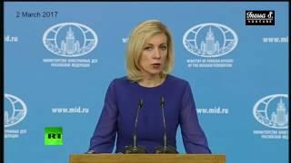 Zakharova warns of Orwellian US Media