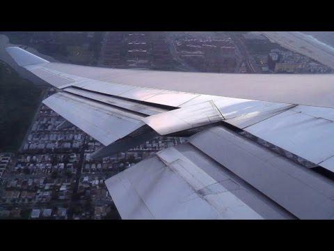 British Airways 747-400 Evening Takeoff from New York JFK!