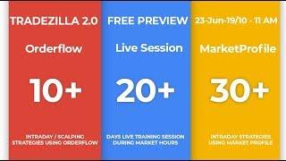 TradeZilla 2 0 - Live Training Session on Market Profile and