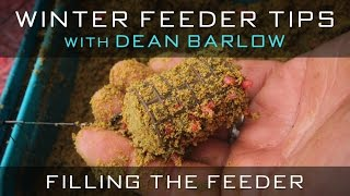 Winter Feeder Tips With Dean Barlow - Filling The Feeder