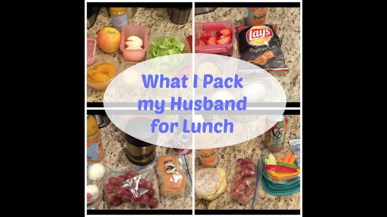 Lunch Ideas For My Husband