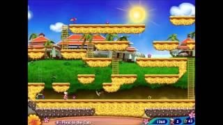 Granny in Paradise Part 2 - Walkthrough levels 6-10 - BOMB GRANNY!