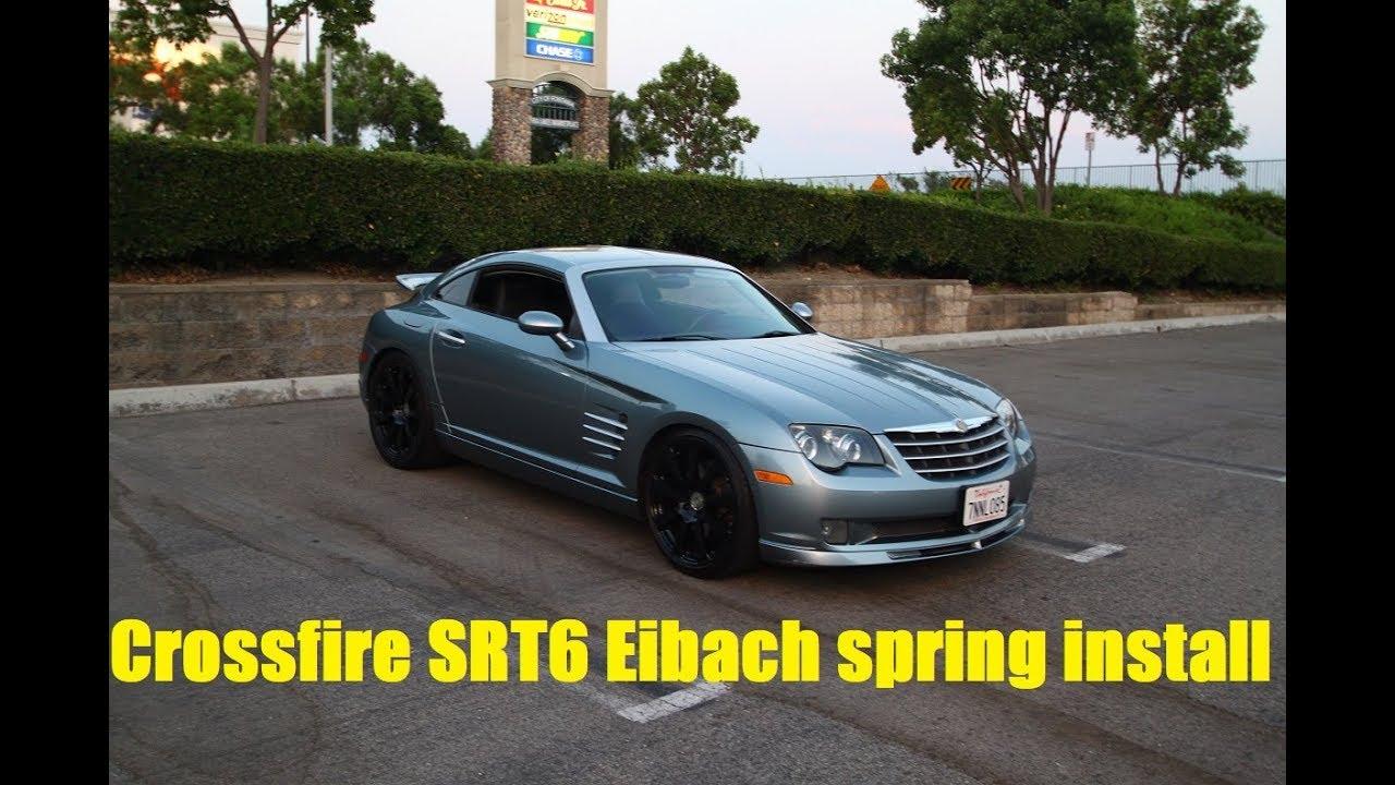 Chrysler Roadster xfire 3.2V6 SRT 05-06 Rear Brake Kit