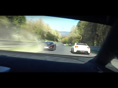 Lamborghini Huracan Performate Vs Porsche GT2RS Crazy Fast/Fun Lap!! Nurburgring Nordschleife