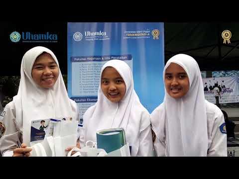 Uhamka Live di Sekolah SMAIT AT TAUFIQ