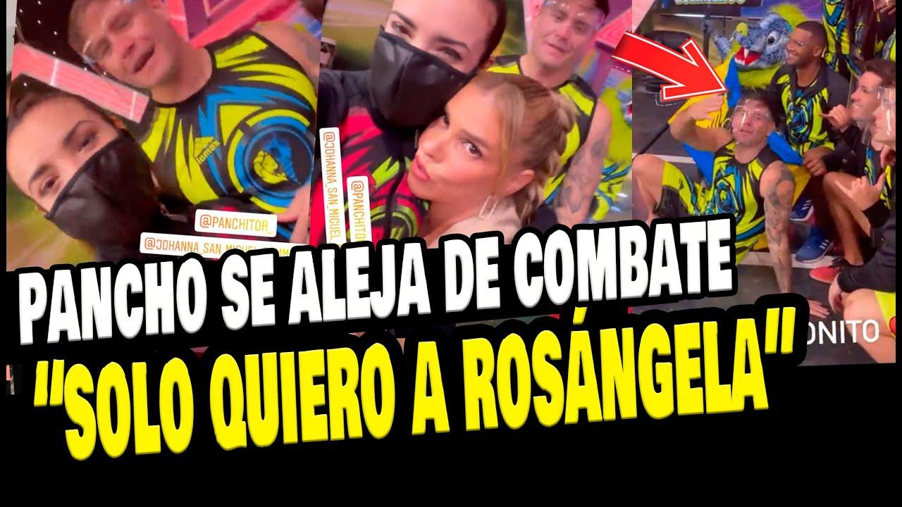 Download PANCHO RODRIGUEZ REVELÓ QUE SOLO QUIERE A ROSÁNGELA ESPINOZA DE LOS COMBATIENTES