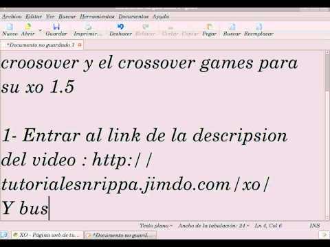 Descargar CrossOver Y CrossOver Games Para Xo