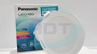 Đèn led âm trần Panasonic 9w dòng Neo Slim NNP72278