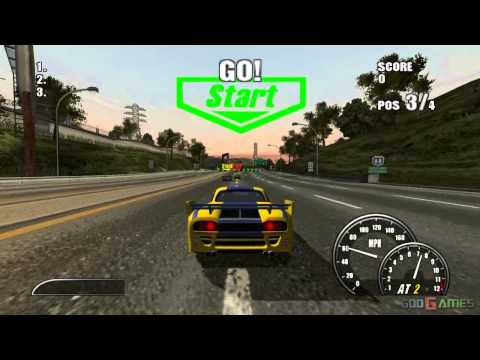 Burnout 2: Point of Impact  Gameplay PS2 HD 720P