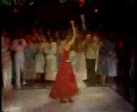 Disco dancing at Club Max in Boston