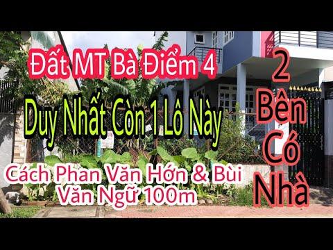 Đất thổ cư trong KDC sổ hồng riêng gần Phan Văn Hớn & Chợ Bà Điểm Hóc Môn giá rẻ   anphuhung