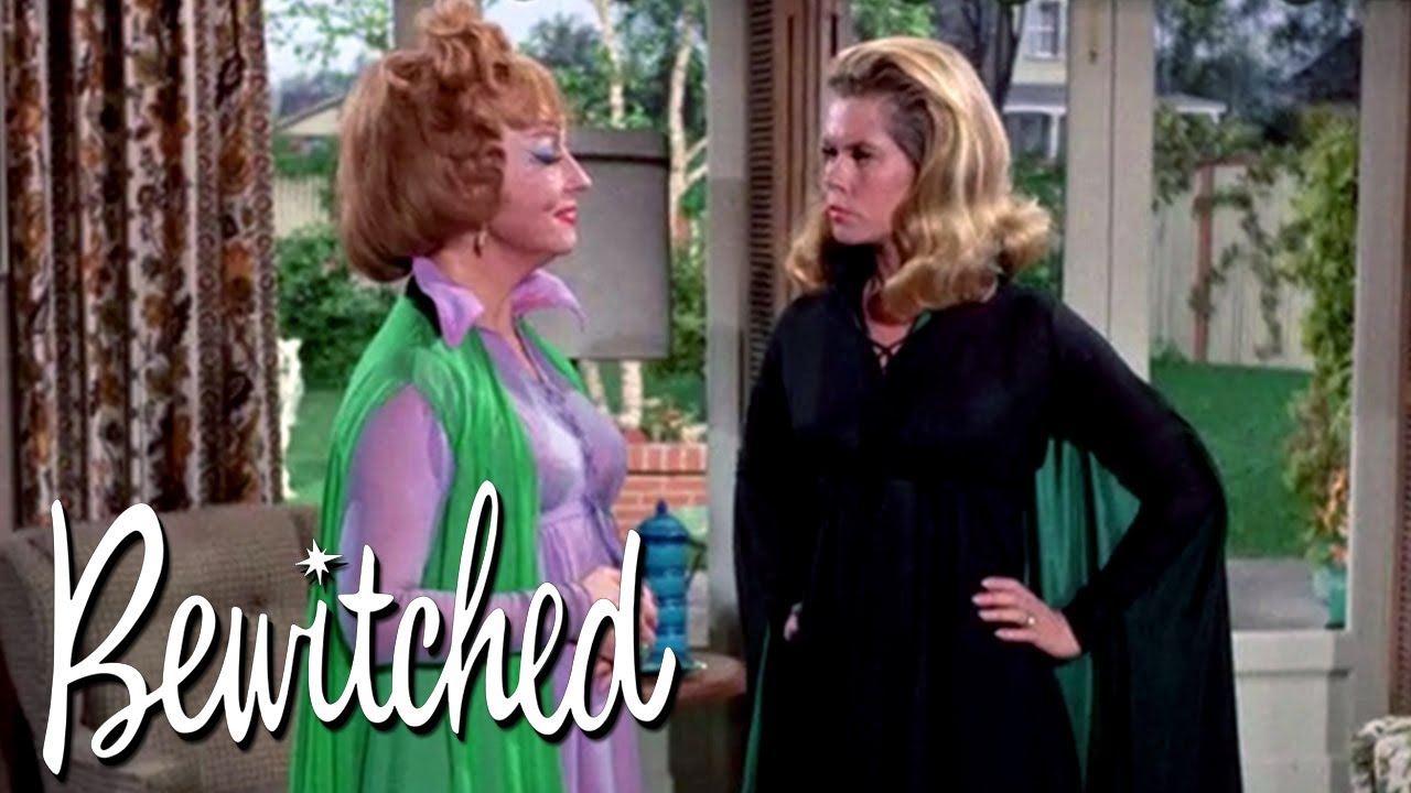 Endora Makes Darrin Disappear | Bewitched
