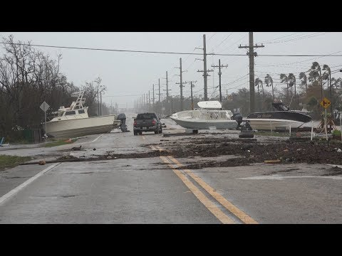 Hurricane Irma Aftermath In the Lower Florida Keys - 9/10/2017
