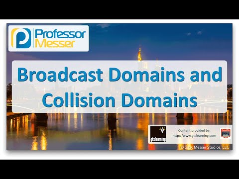 Descargar Video Broadcast Domains and Collision Domains - CompTIA Network+ N10-006 - 1.8