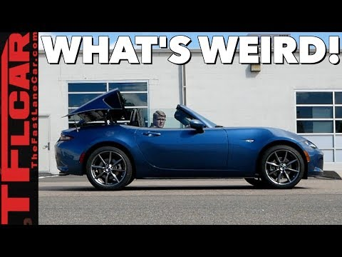 What's So Weird About the 2019 Mazda MX-5 Miata RF
