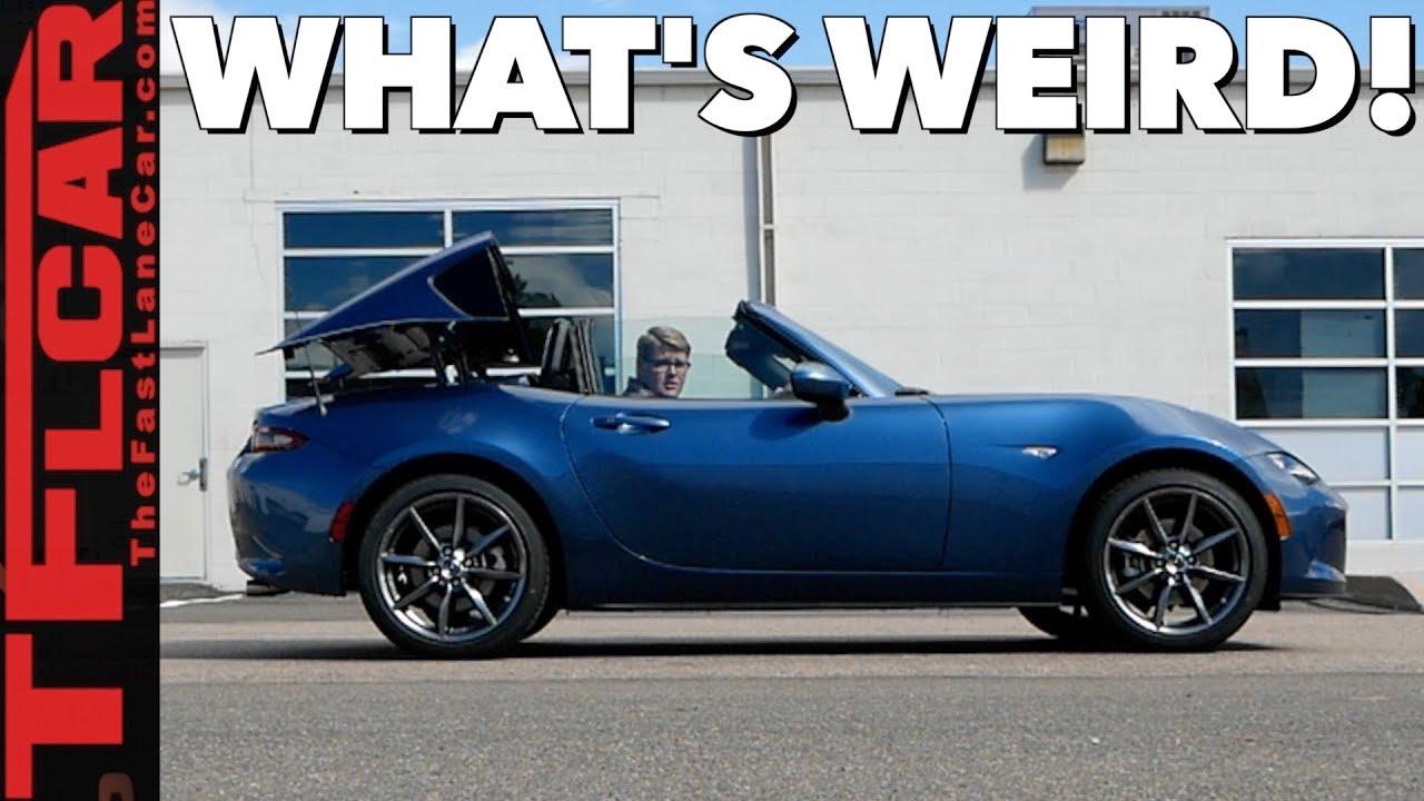 What S So Weird About The 2019 Mazda Mx 5 Miata Rf