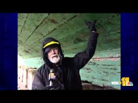 Harbor Ships Dry Dock For Repair Work