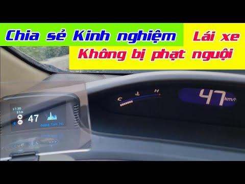 Chia sẻ Kinh nghiệm - Lái xe oto Không bị phạt nguội   Hướng dẫn Lắp đặt HUD Vietmap