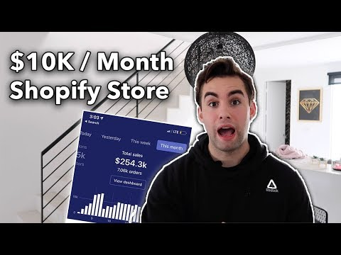 Easy $10K / Month Shopify Store For Passive Income (2019 Shopify Dropshipping)