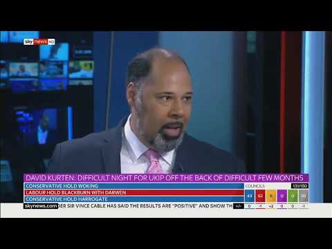 UKIP David Kurten on the Local Council Election Results