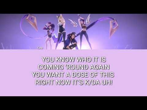 K/DA – POP/STARS (FEAT. MADISON BEER, (G)I-DLE, JAIRA BURNS) (LETRA FÁCIL / EASY LYRIC)