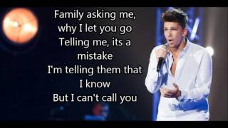 Matt Terry - When Christmas Comes Around (with lyrics) Winner XF