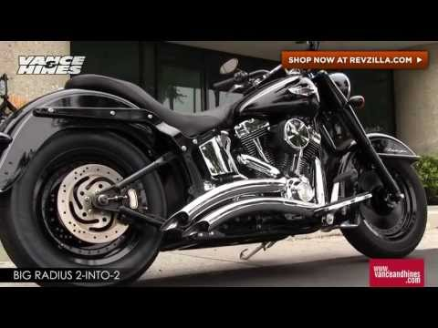 Thumbnail for Vance & Hines Big Radius 2 Into 2 Exhaust