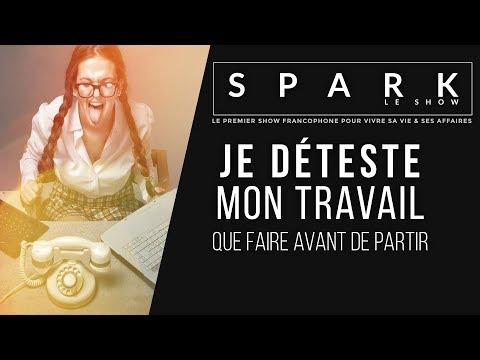 Je déteste mon travail I Spark Le show | Franck Nicolas