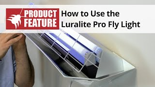 How to Use the Luralite Pro Fly Light Indoor Electric Fly Trap