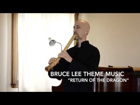Bruce Lee Theme Music On Zen Shakuhachi Flute (Big Boss; Return/Enter The Dragon)