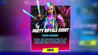 *NEW* FORTNITE PARTY ROYALE EVENT! CLAIM FREE REWARD NOW! (FORTNITE BATTLE ROYALE)