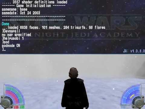 Star Wars Jedi Academy Special Edition-cheats!