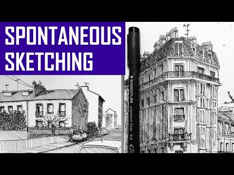 Learn How to Do Spontaneous Sketches