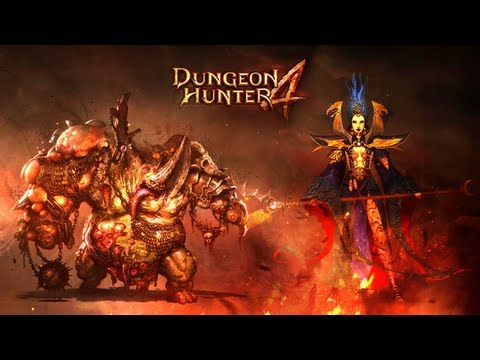 [HD PLAY] Dungeon Hunter 4 All Characters Preview