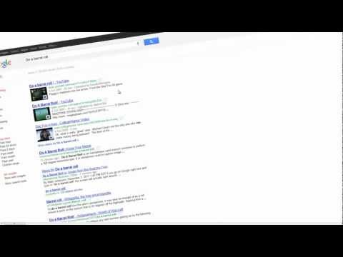 Do A Barrel Roll in Google and Z or R twice in Google