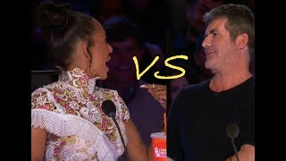 Simon VS Mel B! A Little TENSION In AGT Season 12!