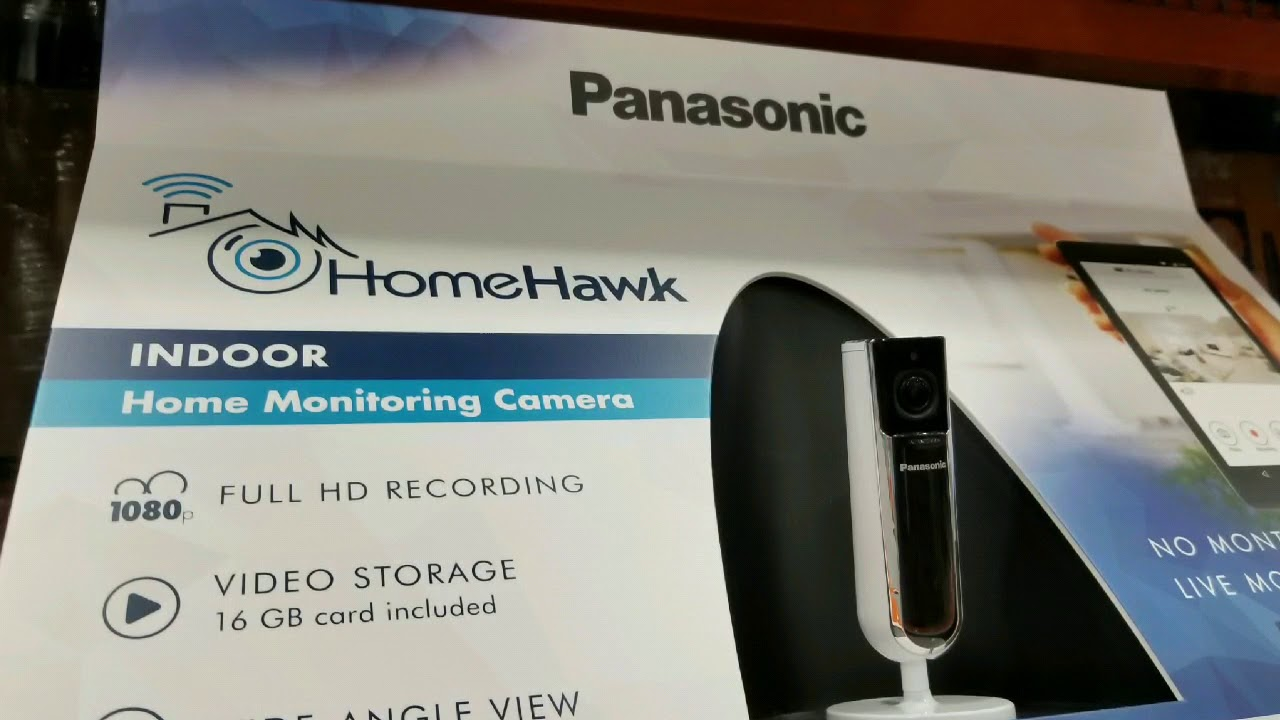 Costco! Panasonic HomeHawk Security Camera! $99!!!