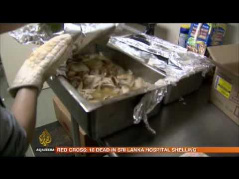 US citizens scramble for food aid - 11 Feb 09