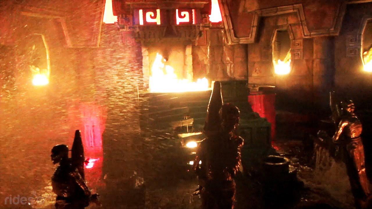 Templo Del Fuego Portaventura Youtube