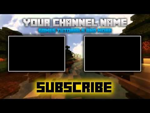 Full download free minecraft outro templates how to edit for Minecraft outro template movie maker