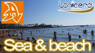 Lonicera Resort and Spa 5* Обзор территории отеля. Пляж и море. Beach and sea