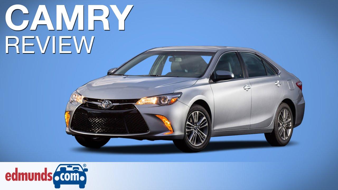 2017 Toyota Camry Review Edmunds