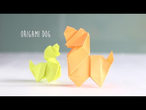 DIY: Origami Dog - YouTube