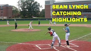 Siena College Showcase Sean Lynch Crusaders Baseball Club Catching Highlights