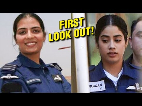 Janhvi Kapoor First Look As Combat Pilot Gunjan Saxena Is Out!