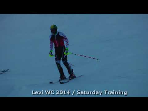 Levi WC 2014 racers training Part 1 (Marcel Hirscher)
