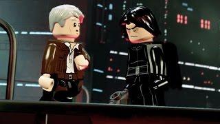 Gambar cover HAN SOLO's DEATH - LEGO Star Wars The Force Awakens (SAD Scene)