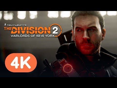 The Division 2: Warlords Of New York Official Trailer (4K)