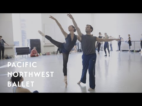 WORLD PREMIERE | A Dark and Lonely Space rehearsal (Pacific Northwest Ballet)