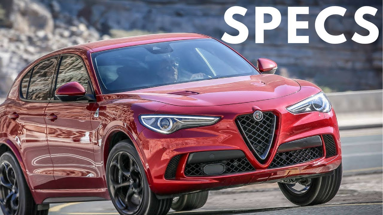 2018 Alfa Romeo Stelvio Quadrifoglio Price Specs Colors Option Interior Youtube